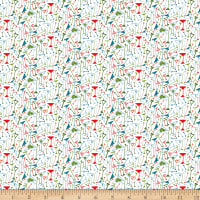 Clothworks Picholine Toss White