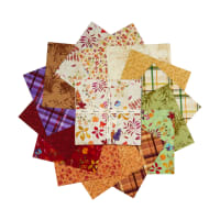 "Clothworks Autumn Air 10"" Squares 42pcs"