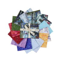 Clothworks Ski Town Fat Quarter Pack 15 Pcs. Multi