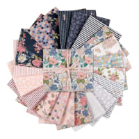 Poppie Cotton Country Roads Fat Quarter Bundle 21pcs Multi
