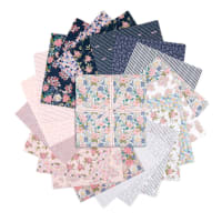 "Poppie Cotton Precut Country Roads 10"" Squares 42pcs Multi"