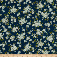 Windham Fabrics Spellbound Floral Clusters Navy