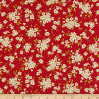 Windham Fabrics Spellbound Floral Clusters Rose