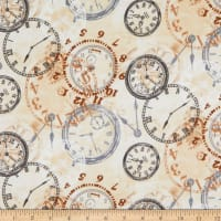 Whistler Studios One Time Flannel Time Pieces Tan