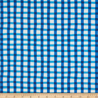 Whistler Studios A To Zoo Loose Gingham Blue