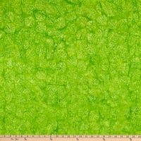 Anthology Batiks Jacqueline de Jonge Flora Leaf Cutouts Green