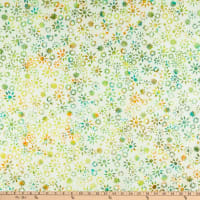 Anthology Batiks Flora Twinkle Citrus