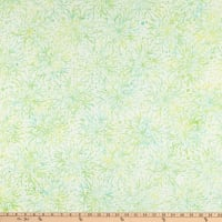 Anthology Batiks Flora Full Bloom Lime