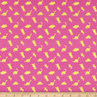 Camelot Rainbowsaurus Collection Dino Silhouettes Pink