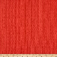 Camelot Reindeer Lodge Cable Knit Red