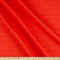 Designer Deadstock Woven Jacquard Textured Candy Apple