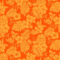 Michael Miller Fabrics Lost In Paradise Hot Tropics Orange