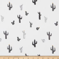 Art Gallery Pacha Capsule Cactus Stamps Black/White