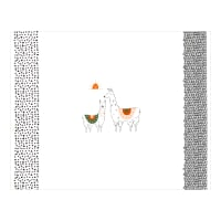 "Art Gallery Pacha Capsule I Love You A Llama 36"" Panel Black/White"
