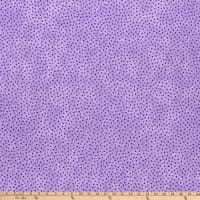 "Westrade 109"" Cotton Wide Quilt Backs Multi Spot Lilac"