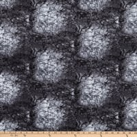 """Westrade 109"""" Cotton Wide Quilt Backs Moonscape Charcoal"""