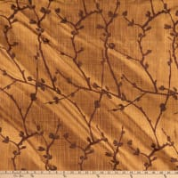 Tempo Willow Hand Painted 100% Silk Bronze