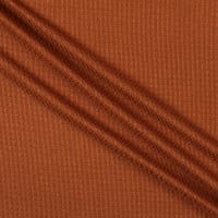 Thermal Waffle Rayon Knit Copper