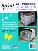 All Purpose Bosal Carry All