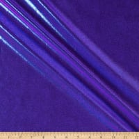 Pine Crest Fabrics Iridescent Jewels Purple Iridescent