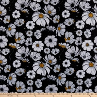 Pine Crest Repreve Virtue Recycled Polyester Daisies Black/White
