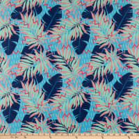 Pine Crest Repreve Virtue Recycled Polyester Miami Fern Turquoise/Multi