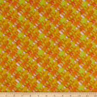 Pine Crest Repreve Virtue Recycled Polyester New Checks Orange/Yellow