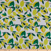 Pine Crest Repreve Virtue Recycled Polyester Lemon Drop White/Yellow/Green