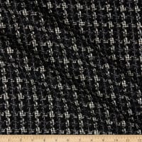 Telio Metallic Tweed Black