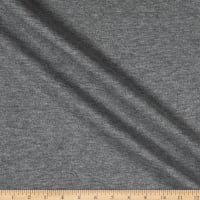 Telio Solid Double Knit Grey Mix
