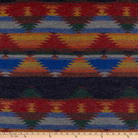 Telio Grove Coating Aztec Inspired Red/Blue/Mustard