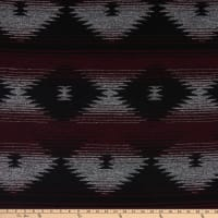 Telio Grove Coating Aztec Inspired Wine/Black