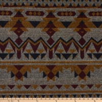Telio Grove Coating Aztec Inspired Beige/Ochre/Wine