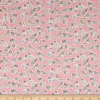 Liberty Fabrics Tana Lawn Willoughby Mews Pink