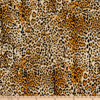 Fabric Merchants Liverpool Double Stretch Knit Cheetah Stone/Taupe