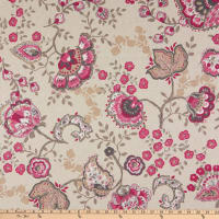 ArtCo Prints Indian Rose Classic Duck Natural/Pink