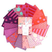 Tula Pink Tula's True Colors Fat Quarter Bundle 16 pcs Flamingo
