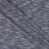 Fabric Merchants Deadstock Sweater Knit Stretch Navy/White