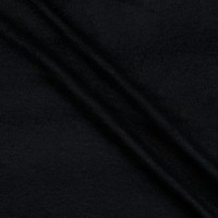Fabric Merchants Deadstock Brushed Sweatshirt Fleece Stretch Black