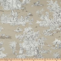 Covington Pastorale Toile Duck Taupe/Brown