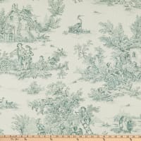 Covington Pastorale Toile Duck White/Green