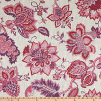 Covington Nobility Linen Scarlet Bloom