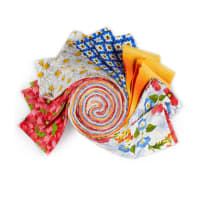 "Fabric Editions Morning Glory 2.5"" Strips 20 Pcs"