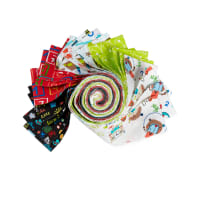 "Fabric Editions Classroom Fun 2.5"" Strips 20 Pcs"