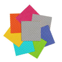 "Fabric Editions Quatrefoil 5"" Squares 21 pcs Multi"