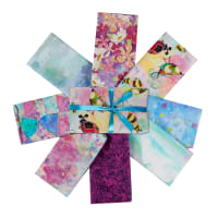 3 Wishes In The Meadow Fat Quarter Bundle 8 Pcs Multi