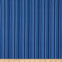 Celeste Pencil Stripe Blue