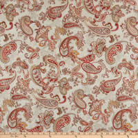 Paisley Palette Main Paisley Red