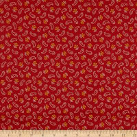 Paisley Palette Small Paisley Red