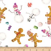 Michael Miller Sweet Holiday Spice and Sugar Multi